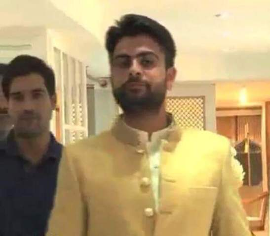 Ahmed Shehzad Marriage images