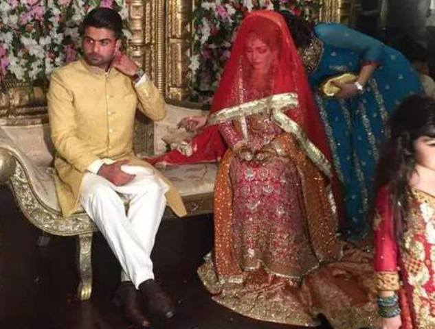 Ahmed Shehzad wedding Pictures