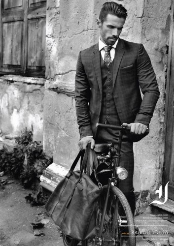 Ismail-Farid-Plaid-Suits-Fall-Winter-2015 men dresses-webstudy.pk