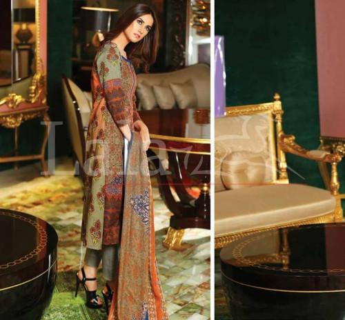 Sana-Samia-Khaddi-Woolen-Shawl-Winter-Collection-2015-2016-By-Lala