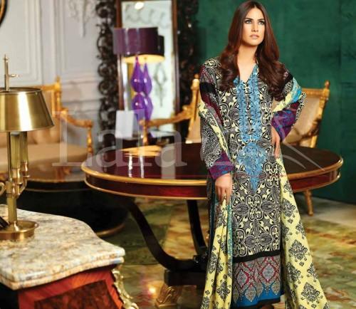 Sana-Samia-Khaddi-Woolen-Shawl-Winter-Collection-2015