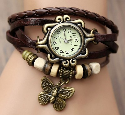 watch with braclet for girls-webstudy.pk
