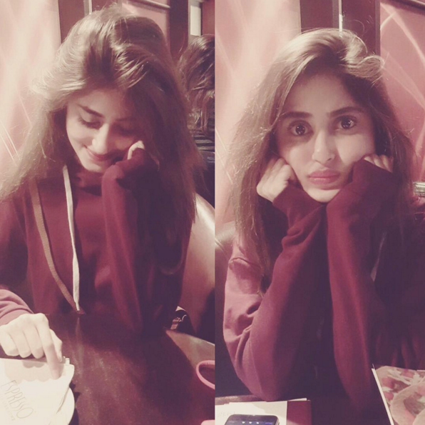 cute sajal ali hd wallpaper-webstudy.pk