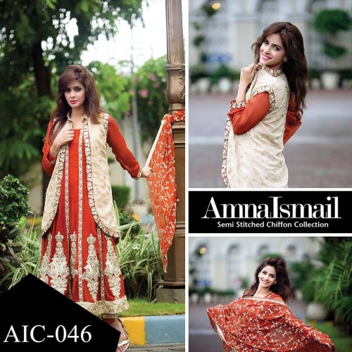 Chiffon-Collection-2016 by amna ismail