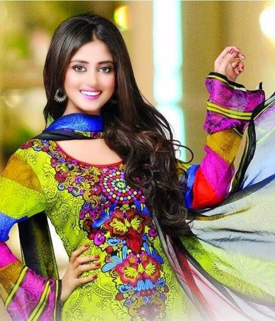 Sajal Ali Photoshoot for Dawood Lawn 2016