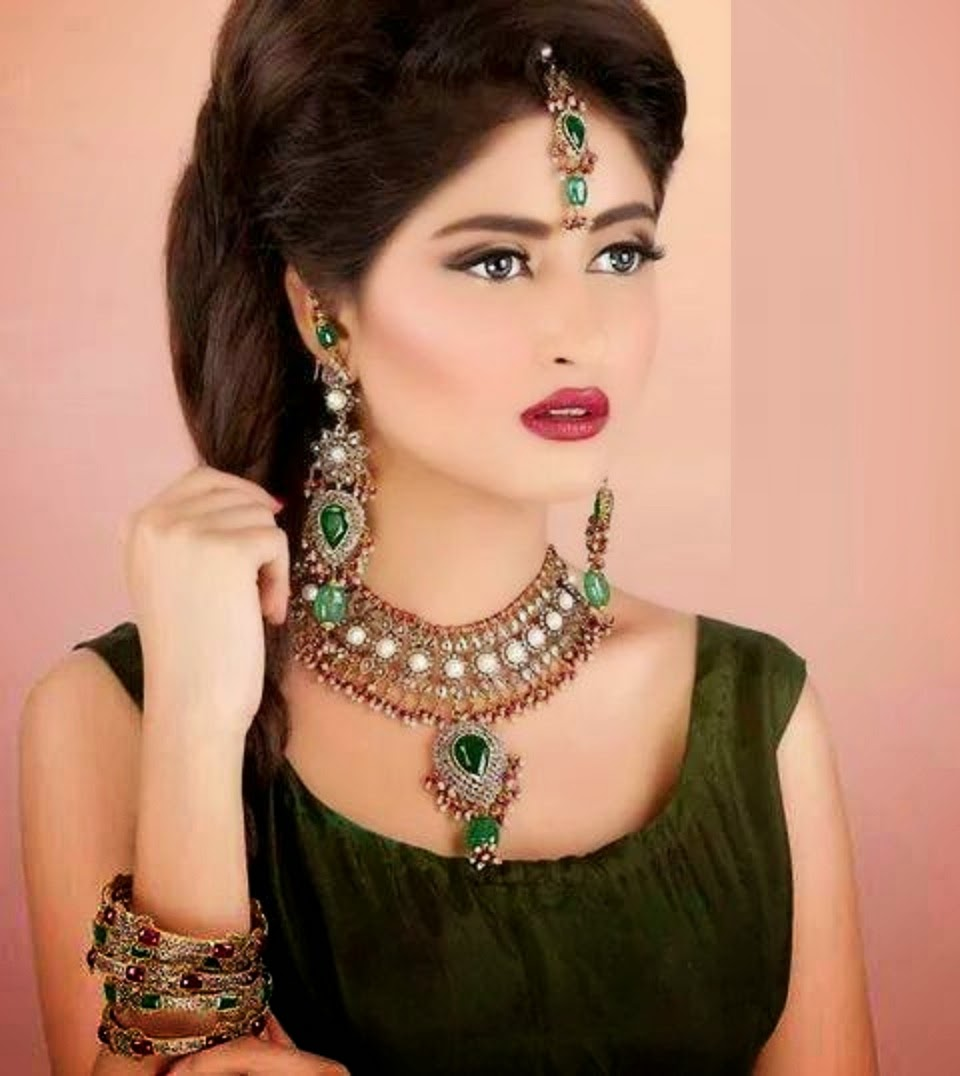 Sajjal Ali's latest shoot for Taiba Jewellers