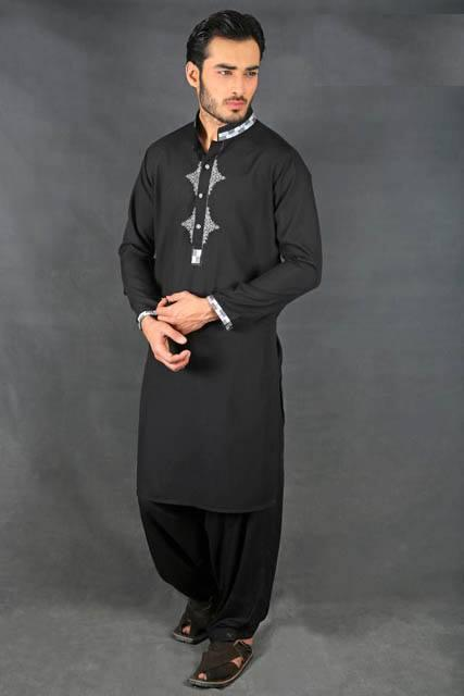 blue-kurta-white-shawar-2016-webstudy.pk