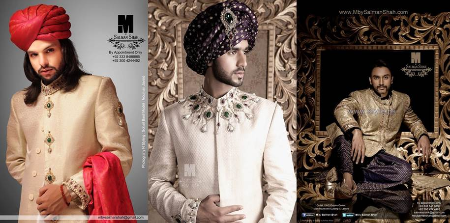 latest new sherwani designs 2016-webstudy.pk