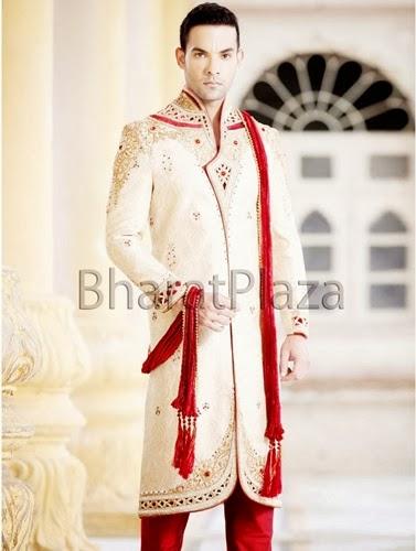 latest pakistani wedding sherwani desings 2016-webstudy.pk