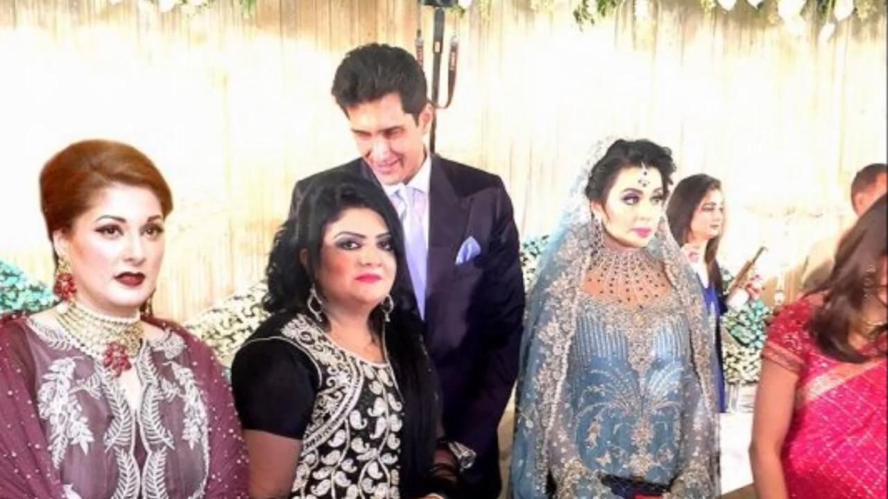 mehrunisa maryum nawaz sharif daughter images on wedding