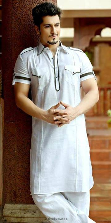 white-kurta-with-handsome-boy-2016-webstudy.pk