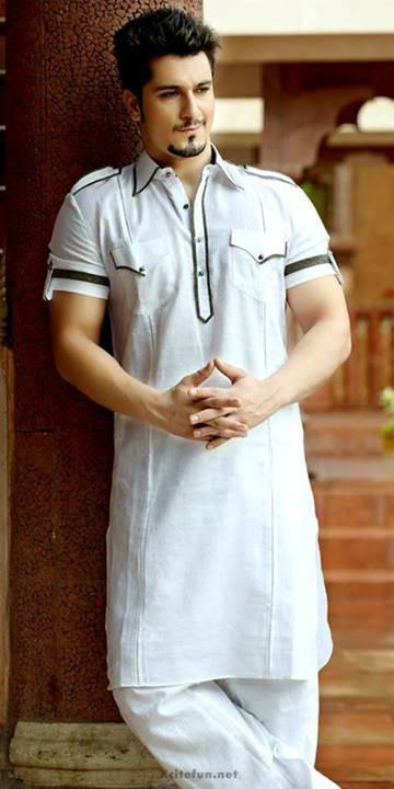 white-kurta-with-handsome-boy-2016-webstudy.pk