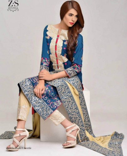 Areeba-Saleem-Fall-Winter-Peach-Leather-Jacquard-Shawl-Collection-2015-2016-By-ZS-Textile