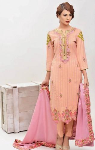 Areeba-Saleem-Fall-Winter-Peach-Leather-Jacquard-Shawl-Collection-2015-2016-