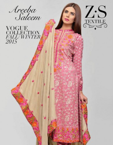Winter-Peach-Leather-Jacquard-Shawl-Collection-2016-2017-By-ZS-Textile-webstudy.pk