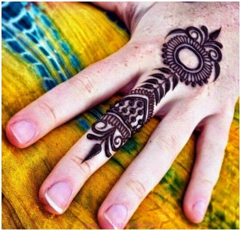 Best-Mehndi-Designs-on-Single-Finger