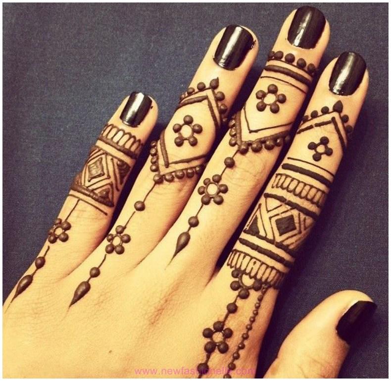 Finger-Mehndi-Designs-on-Hand