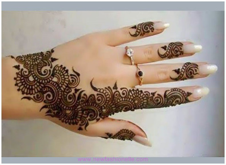 New-year-Finger-Mehndi-Designs