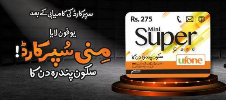 Ufone Mini super-card-offer for 15 days-webstudy.pk