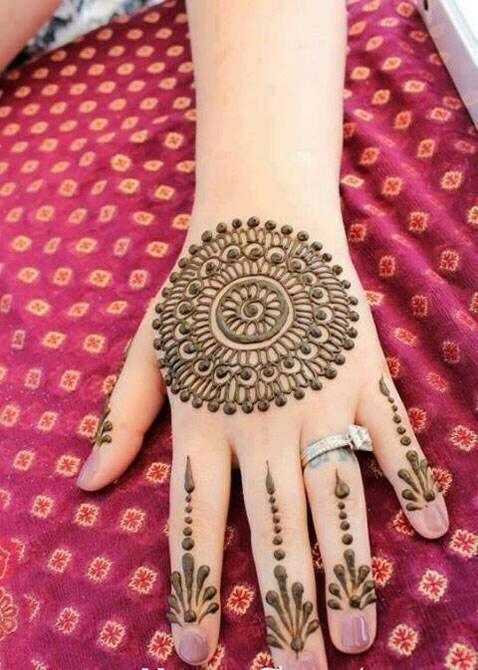 beautiful finger mehndi designs-webstudy.pk