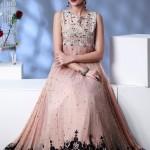 latest new Front Open Shirt Gown Design Pakistani Frocks-webstudy.pk