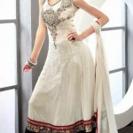 beautiful Front Open Shirt Gown Design Pakistani Frocks-webstudy.pk