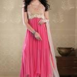 pretty unique Front Open Shirt Gown Design Pakistani Frocks-webstudy.pk