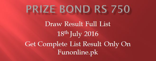 prize bond rs 750 Draw result full list 2016-webstudy.pk
