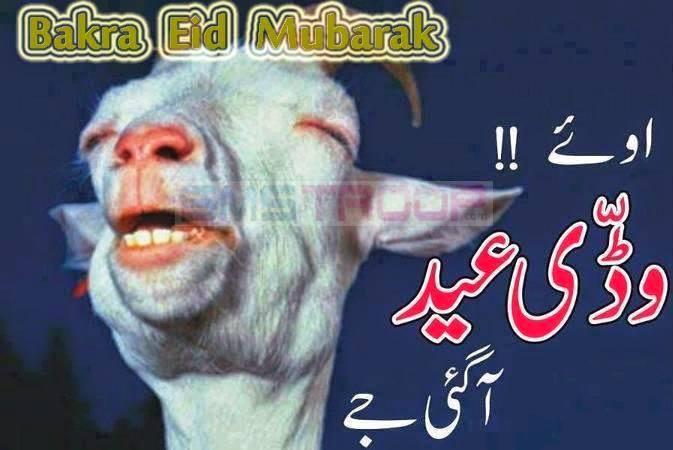 Barak Eid Funny SMS