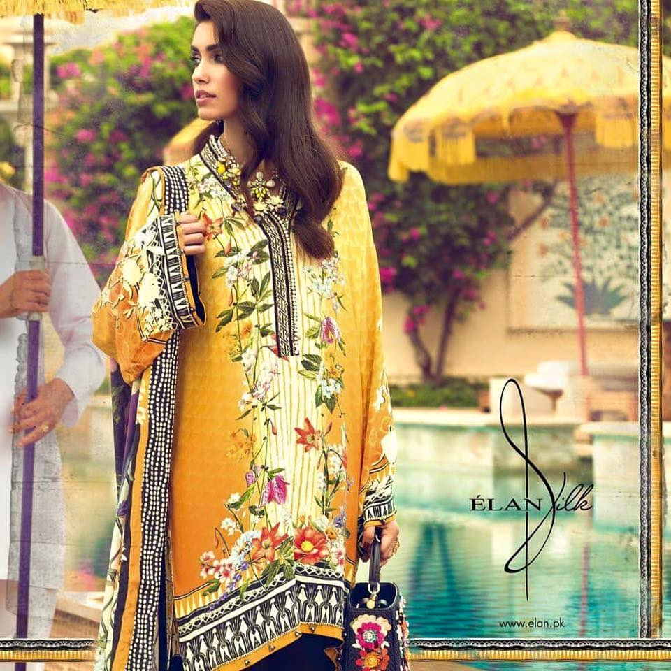 Latest-Elan-Silk-dresses-design