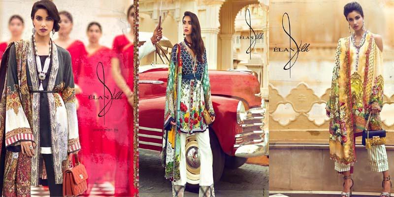 Elan Silk Suits Collection 2017-webstudy.pk