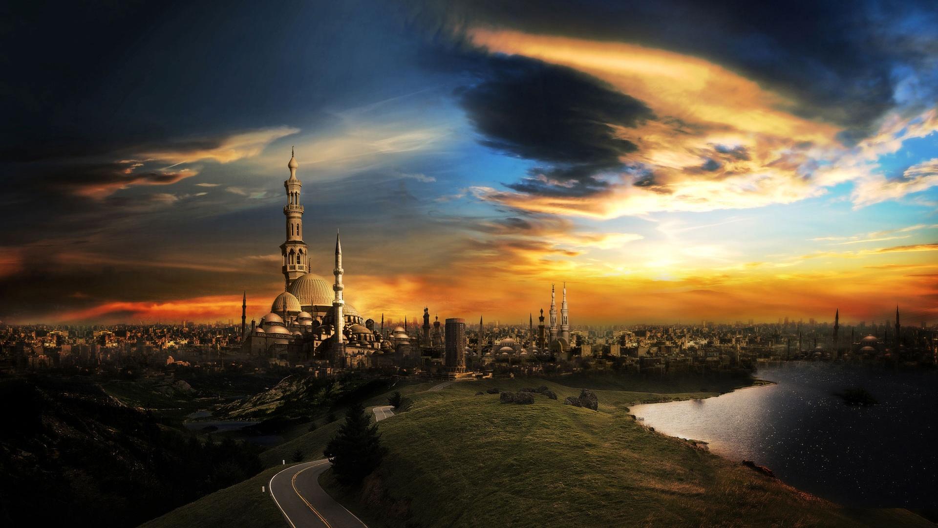 Islamic-City-Wallpaper-webstudy.pk