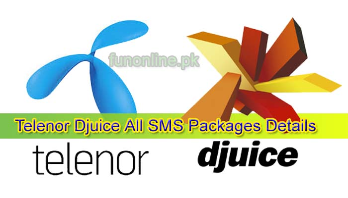 telenor djuice all sms packages details
