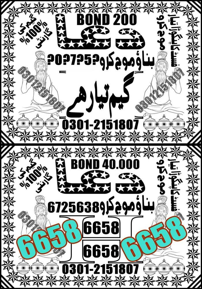 Prize Bond Rs 200 Guess Papers 2020 (10)
