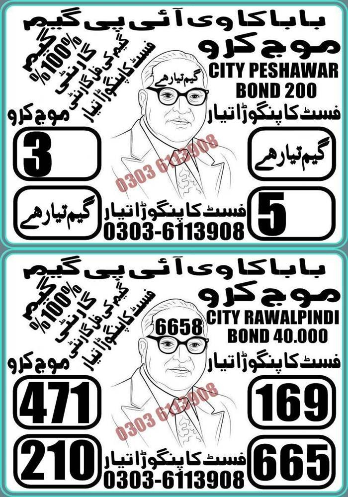 Prize Bond Rs 200 Guess Papers 2020 (4)
