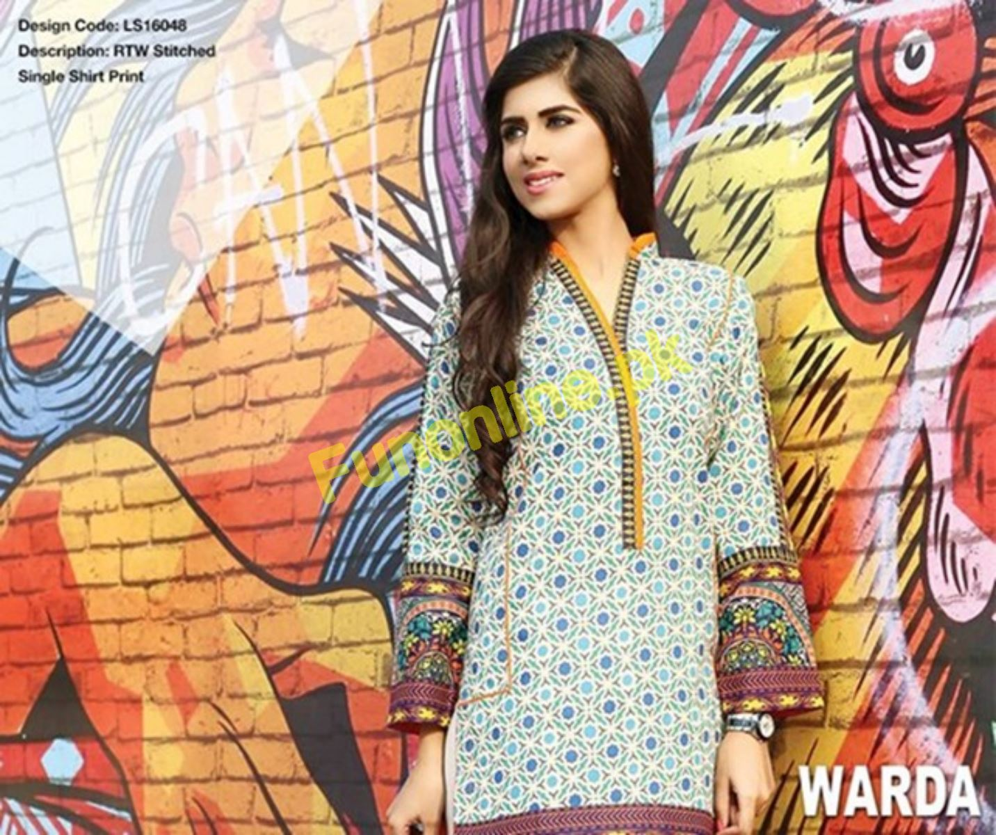 warda beautiful summer dresses collection 2017