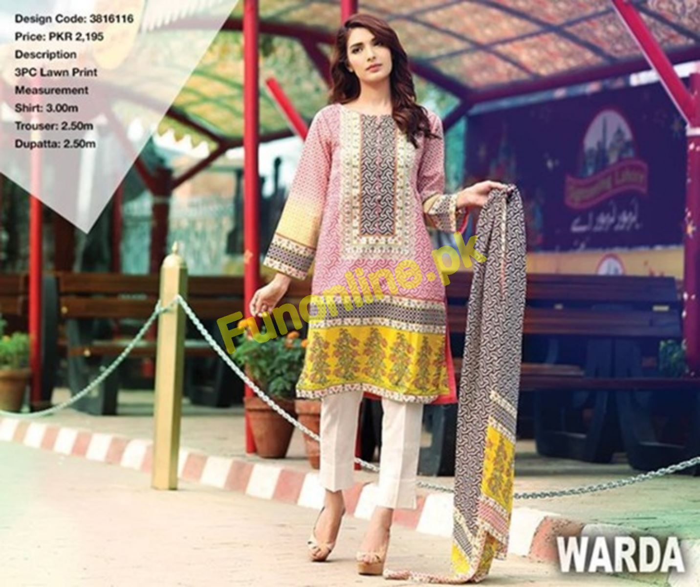 warda beautiful summer dresses collection 2017