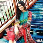 warda beautiful summer dresses collection 2017 for girls