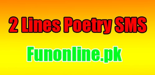 2 lines poetry sms