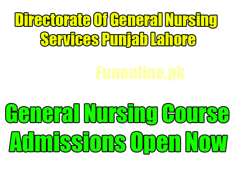 General Nursing Course Admissions 2019-2022 | WebStudy