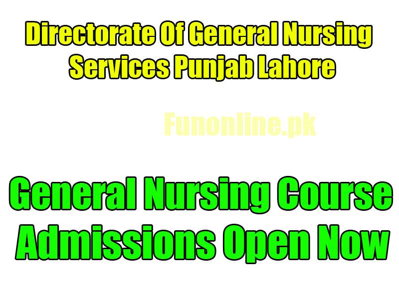 general nursing admissions 2017
