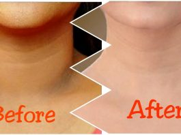 how to whiten your neck with tooth paste
