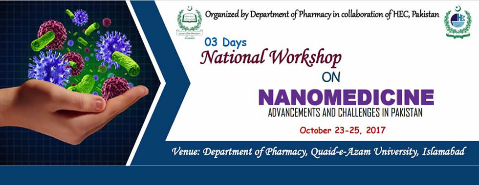 nanomedicine workshop in pakistan