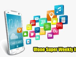 ufone super weekly inernet package details