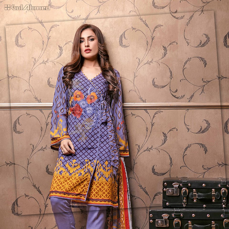 Gul-Ahmed-AutumnWinter-3 piece Collection-2018