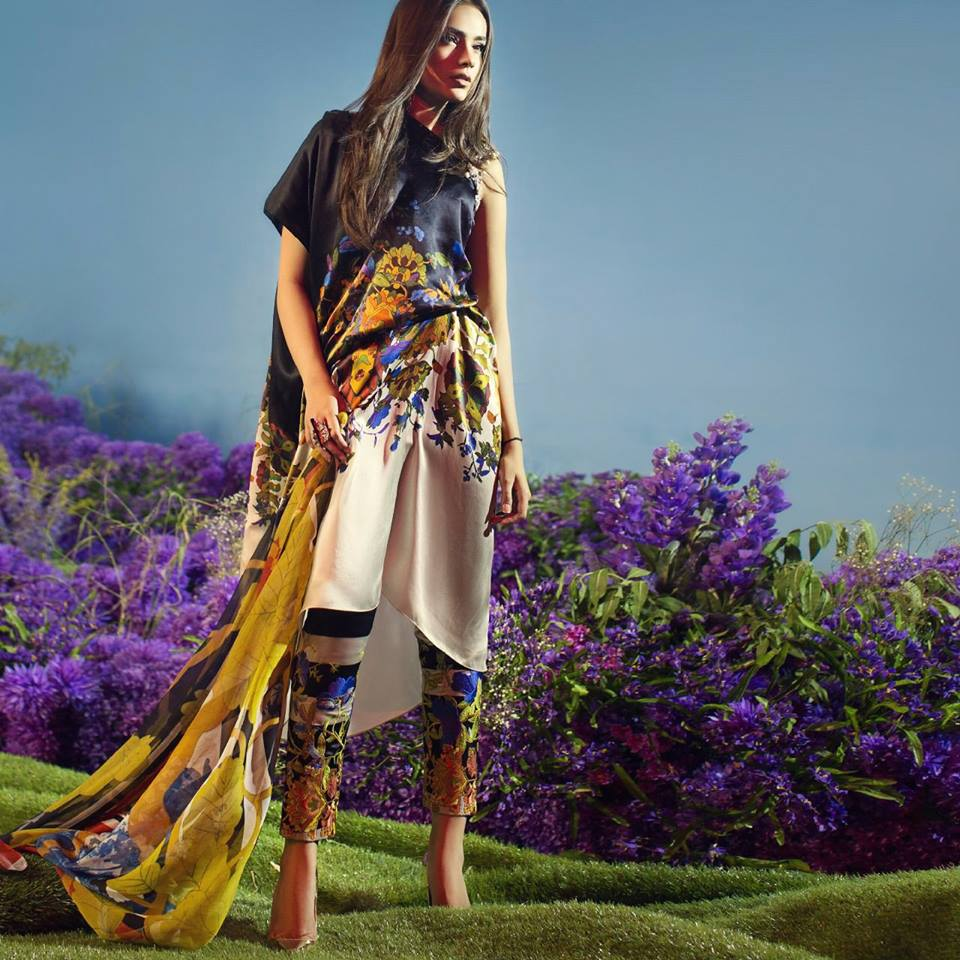 Sana-Safinaz-chiffon collection for fall winter 2018