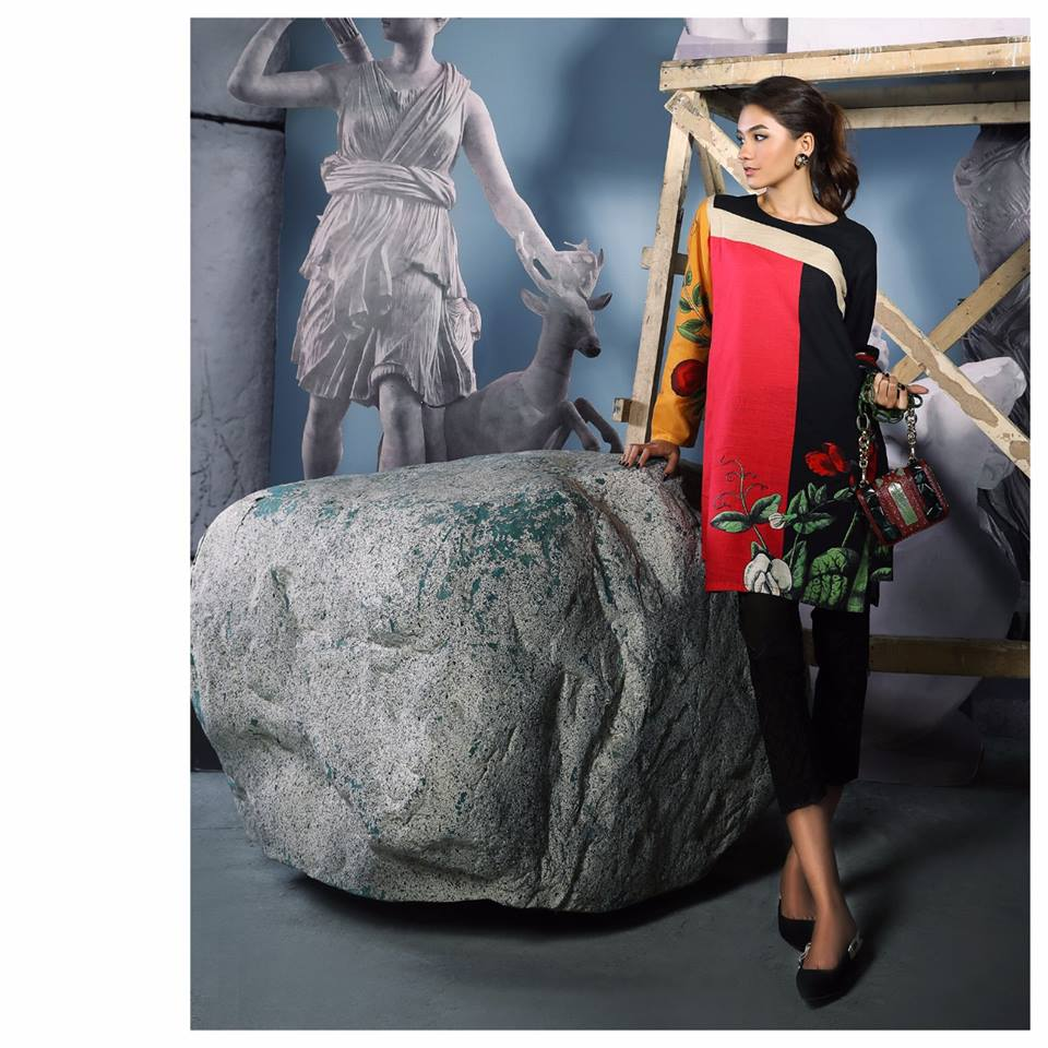Sana-Safinaz-silk collection for winter 2017