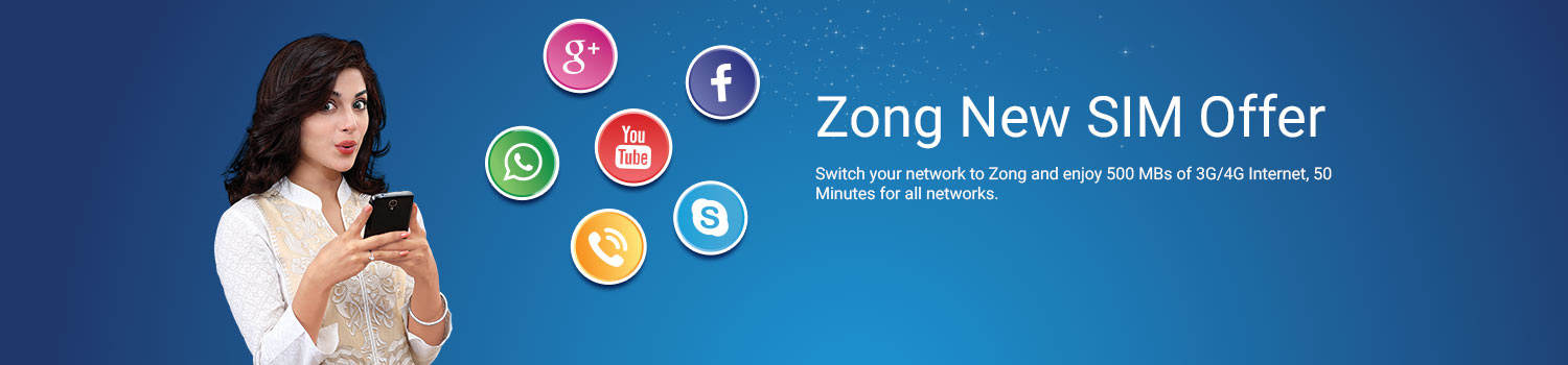 zong new sim offer 2018 free 2000 mb for 3 days