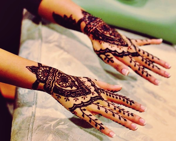 latest mehndi designs 2018 for eid ul fitr