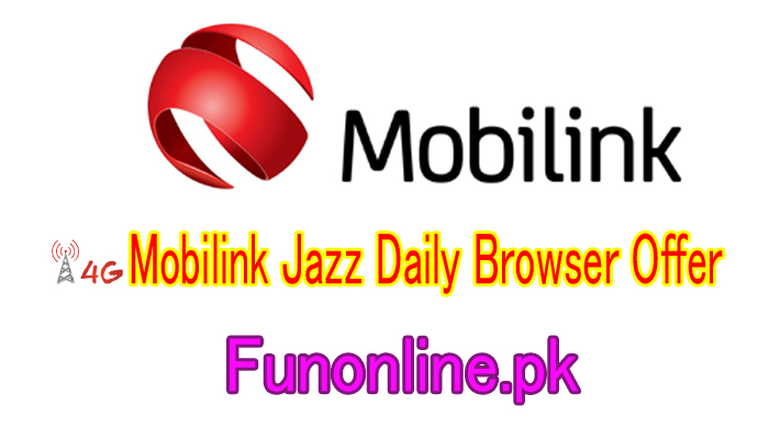 mobilink jazz daily browser offer 24 hours internet package